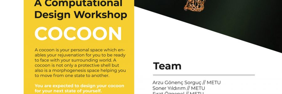 "DESIGN FACTORY IS HOSTING ""COCOON"" WORKSHOP!"