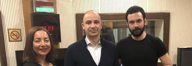 """24.02.2019 TRT Radyo 1 """"Gecenin İçinden"""" – Dr. Öğr. Üyesi Arsev Umur Aydınoğlu"""
