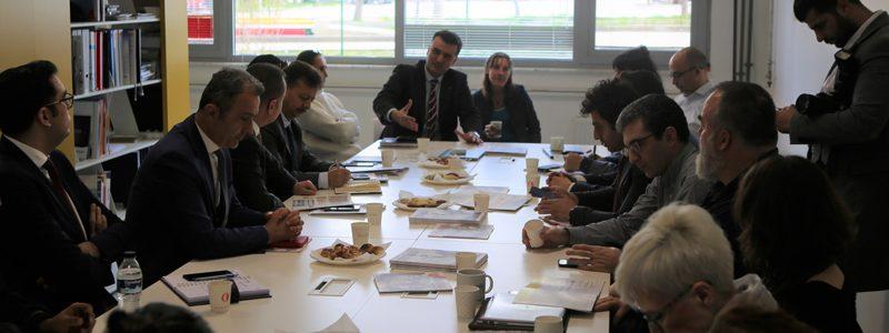 Ankara Sanayi ve Teknoloji İl Müdürlüğü Heyeti Tasarım Fabrikasını Ziyaret Etti